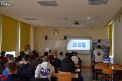 Wizyta Elektryka w KPU w Krośnie