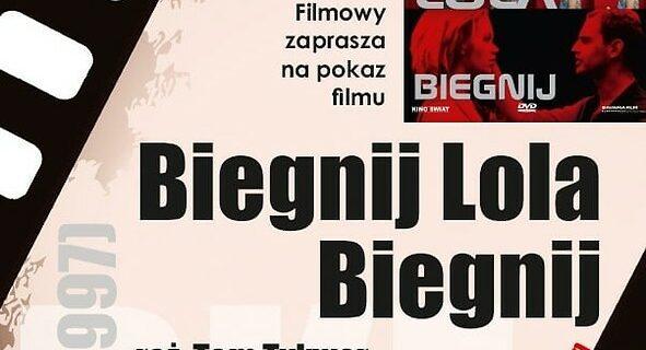 """DKF PWSZ zaprasza na pokaz filmu """"Biegnij, Lola, biegnij"""""""