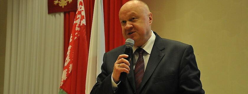 2. Ambasador Republiki Białoruś profesor Wiktar Gajsionak z wizytą w naszej uczelni