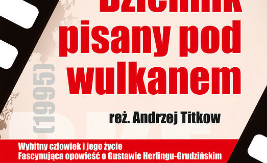 """Dyskusyjny Klub Filmowy w Krośnie zaprasza na pokaz filmu """"Dziennik pisany pod wulkanem"""""""