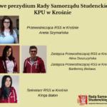 Nowy skład prezydium Rady Samorządu KPU w Krośnie