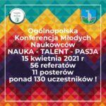 Sukces studentów na Ogólnopolskiej Konferencji Młodych Naukowców w Nowym Targu