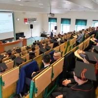 Uroczystość wręczenia dyplomów absolwentom studiów inżynierskich