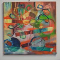 Wernisaż wystawy malarstwa Anny Borcz pt. BARWNE PRZEŚWITY