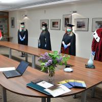 Wręczenie dyplomów